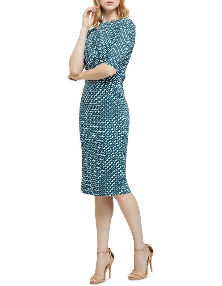 Annie Geo Printed Knit Dress image 2