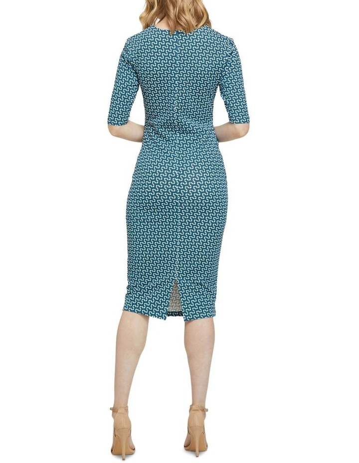 Annie Geo Printed Knit Dress image 3
