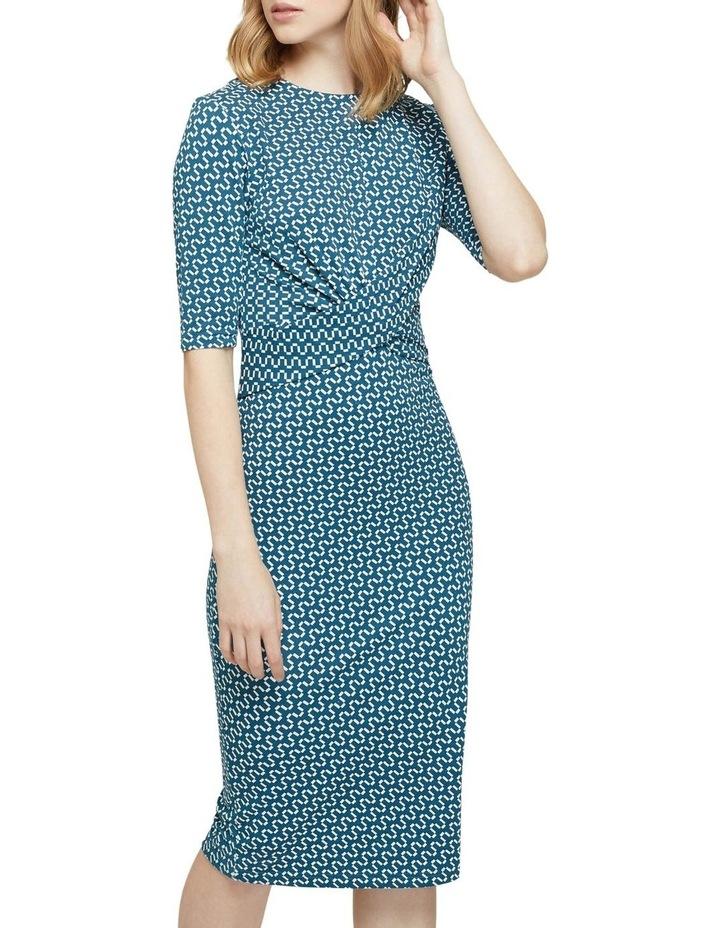 Annie Geo Printed Knit Dress image 4