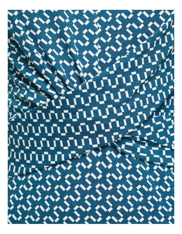 Annie Geo Printed Knit Dress image 6
