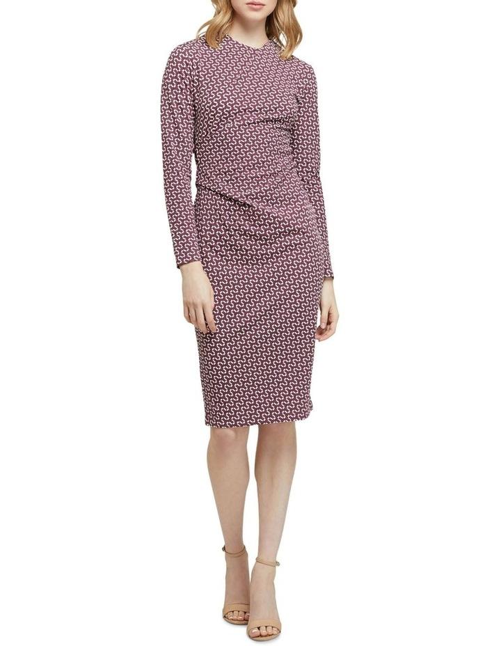 Hartley Geo Printed Knit Dress image 1