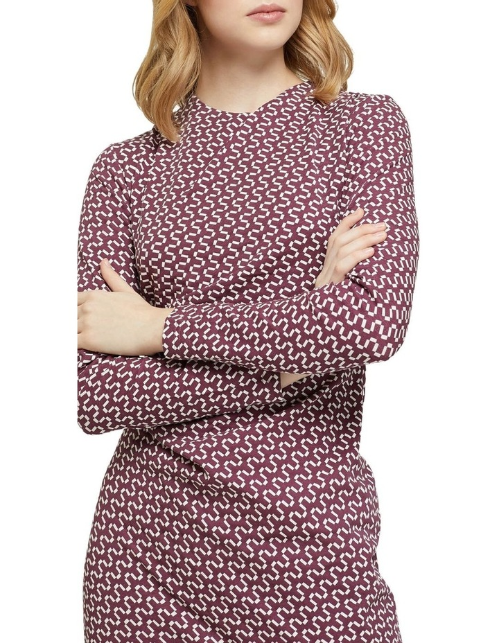 Hartley Geo Printed Knit Dress image 4