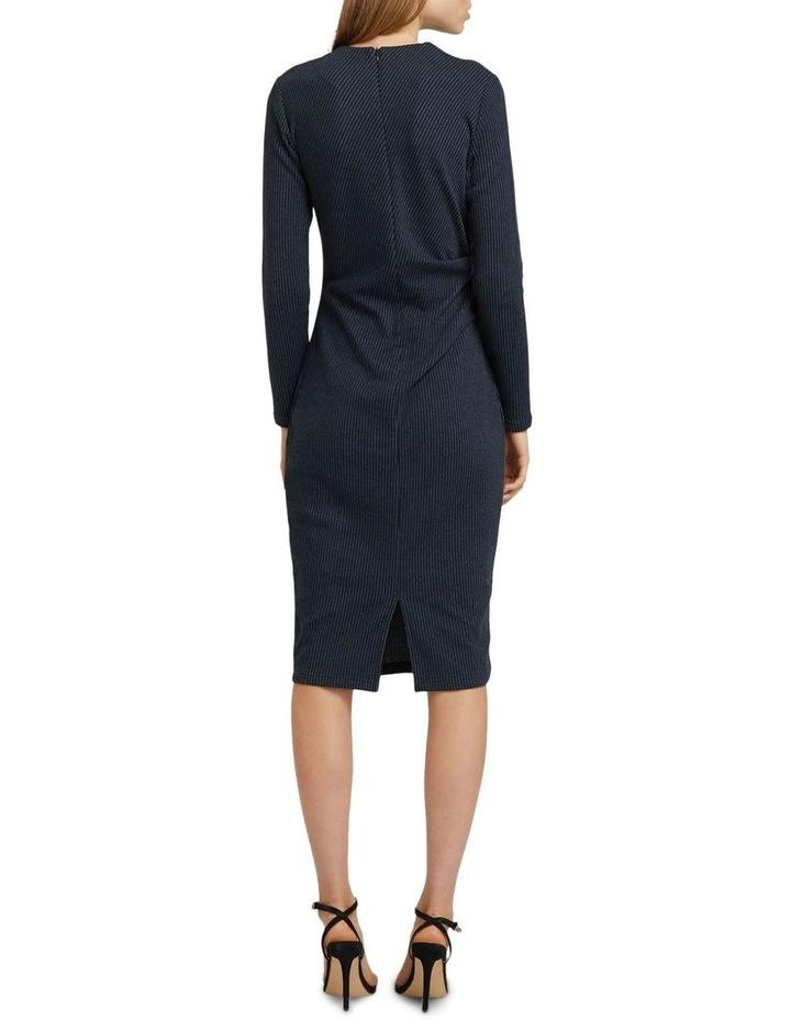 Hartley Jacquard Pinstripe Dress image 2
