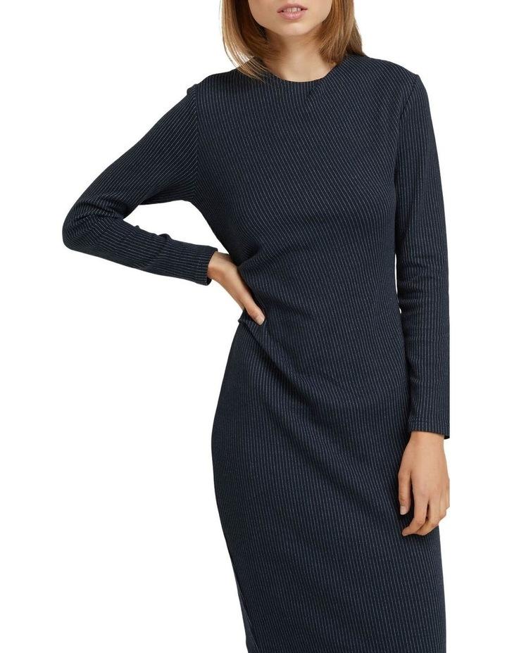 Hartley Jacquard Pinstripe Dress image 3