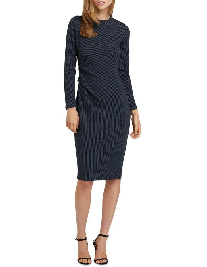 Hartley Jacquard Pinstripe Dress image 4