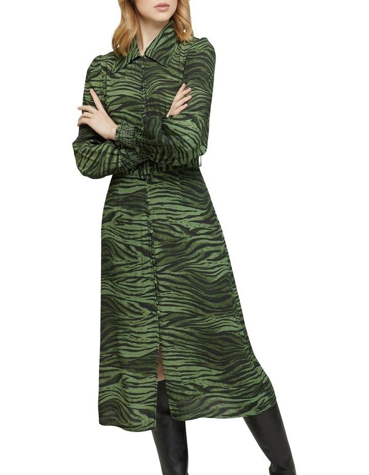 Kira Animal Print Dress image 4