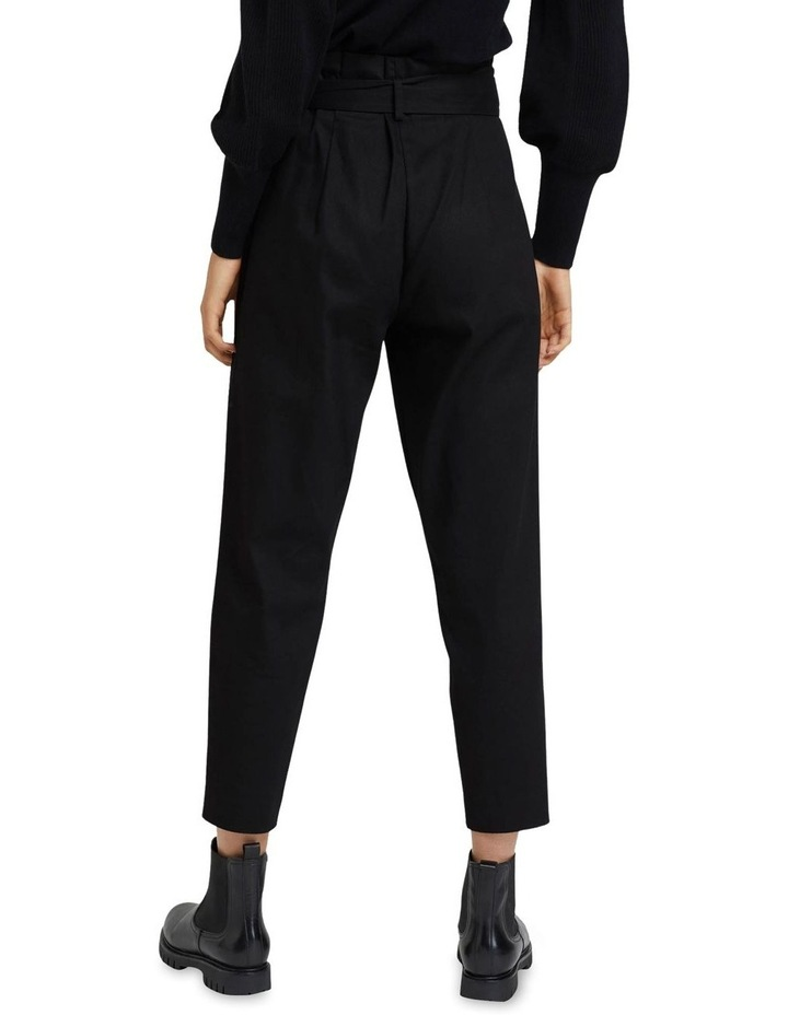 Sloane Stretch Cttn Paperbag Pants image 3