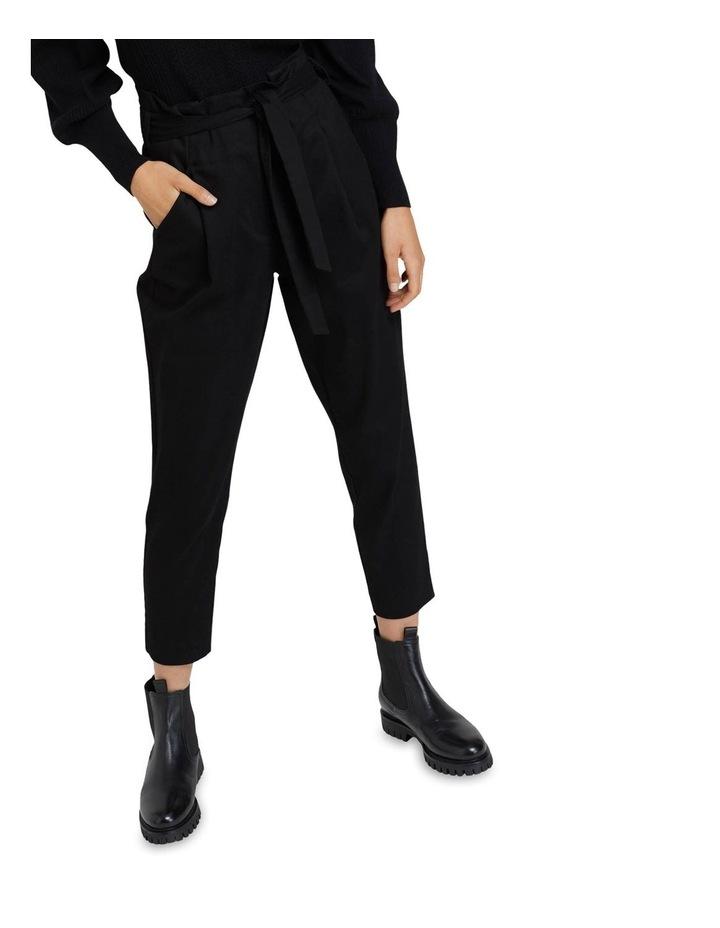 Sloane Stretch Cttn Paperbag Pants image 4