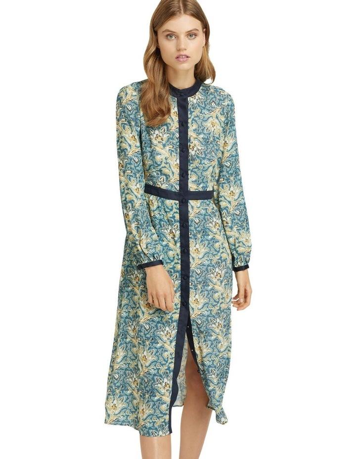 SEATTLE FLORAL PRINTED DRESS image 1