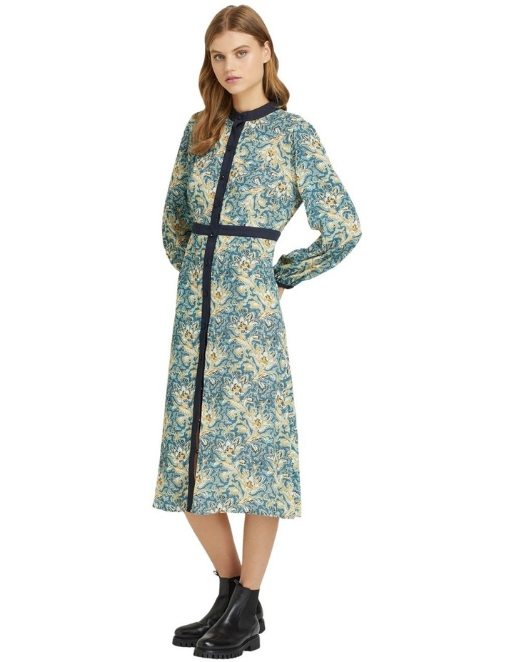 SEATTLE FLORAL PRINTED DRESS image 2