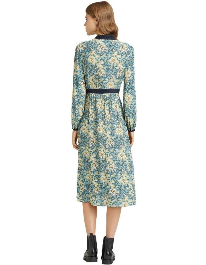 SEATTLE FLORAL PRINTED DRESS image 3