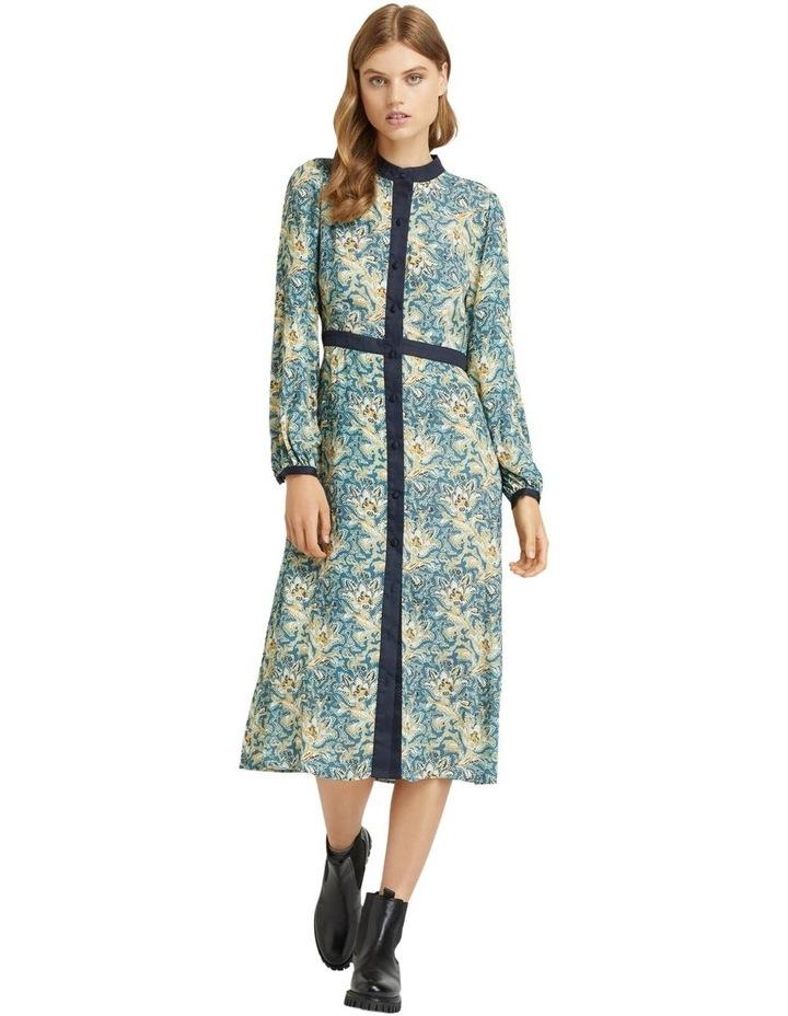 SEATTLE FLORAL PRINTED DRESS image 4