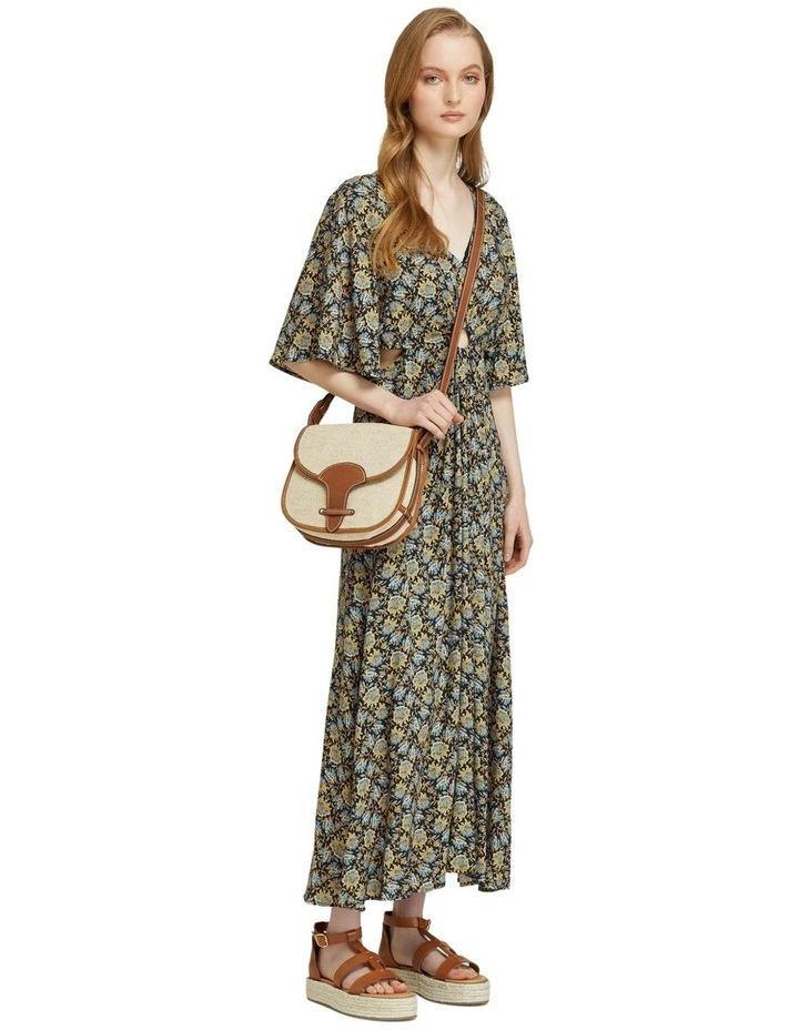 Florence Keyhole Maxi Floral Dress image 2