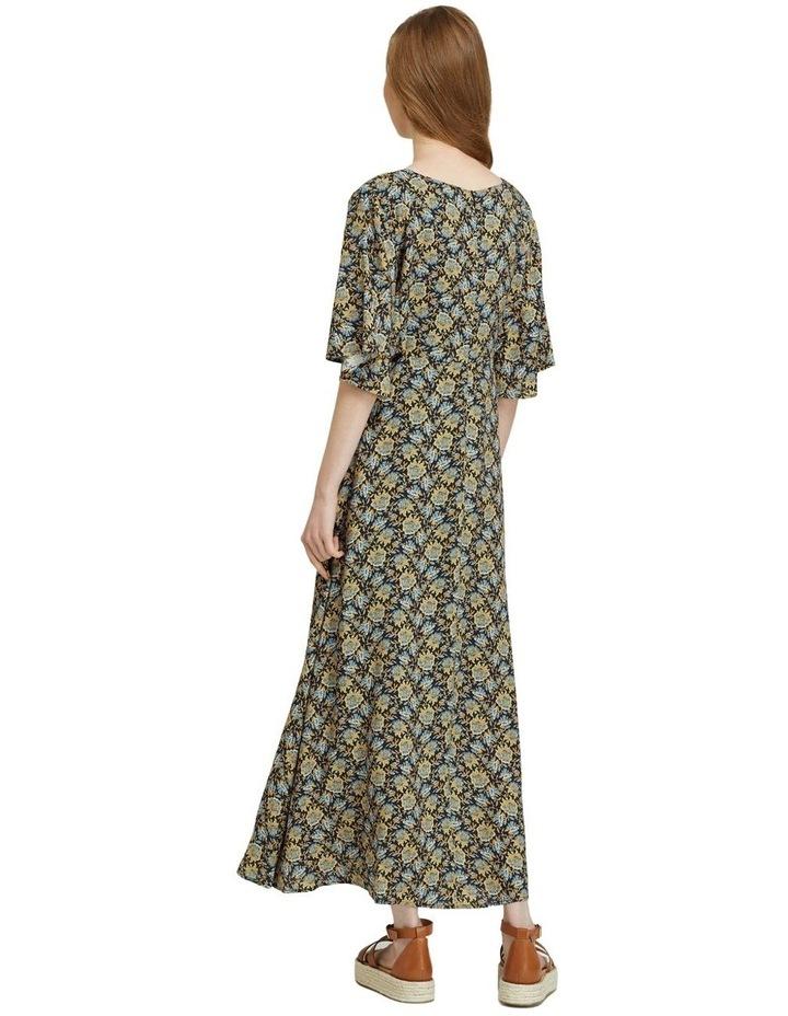 Florence Keyhole Maxi Floral Dress image 3