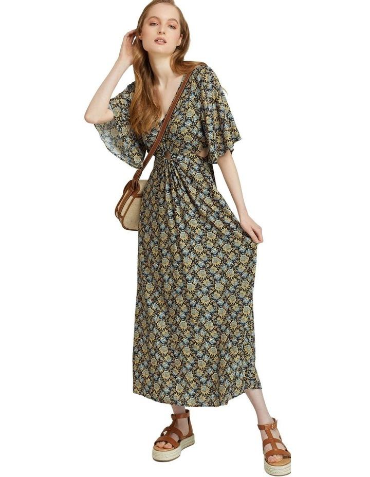 Florence Keyhole Maxi Floral Dress image 4