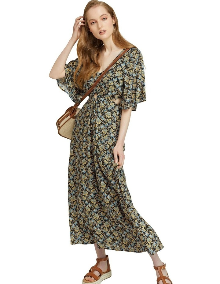 Florence Keyhole Maxi Floral Dress image 5