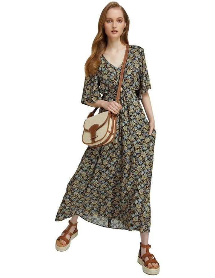 Florence Keyhole Maxi Floral Dress image 6