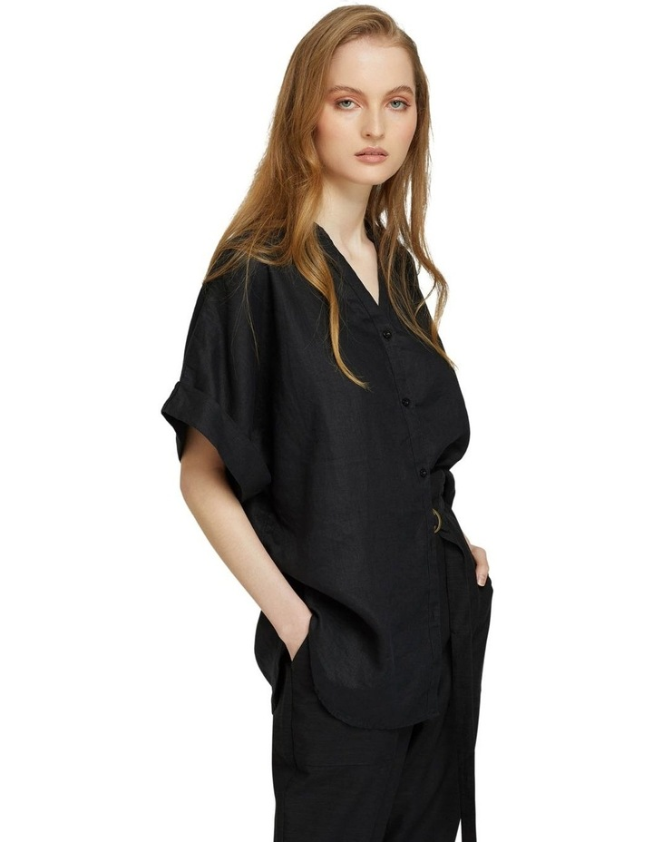 Cara Pure Linen Shirt image 2