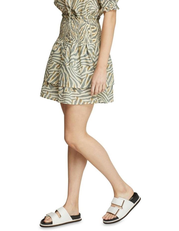 Ryder Grey Animal Print Skirt image 2
