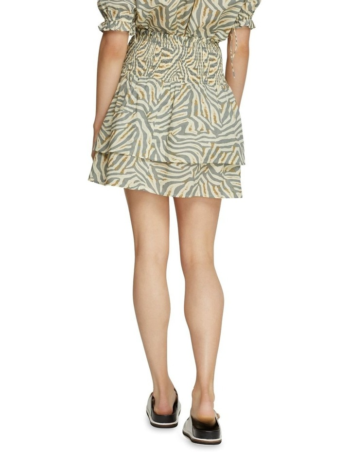 Ryder Grey Animal Print Skirt image 3