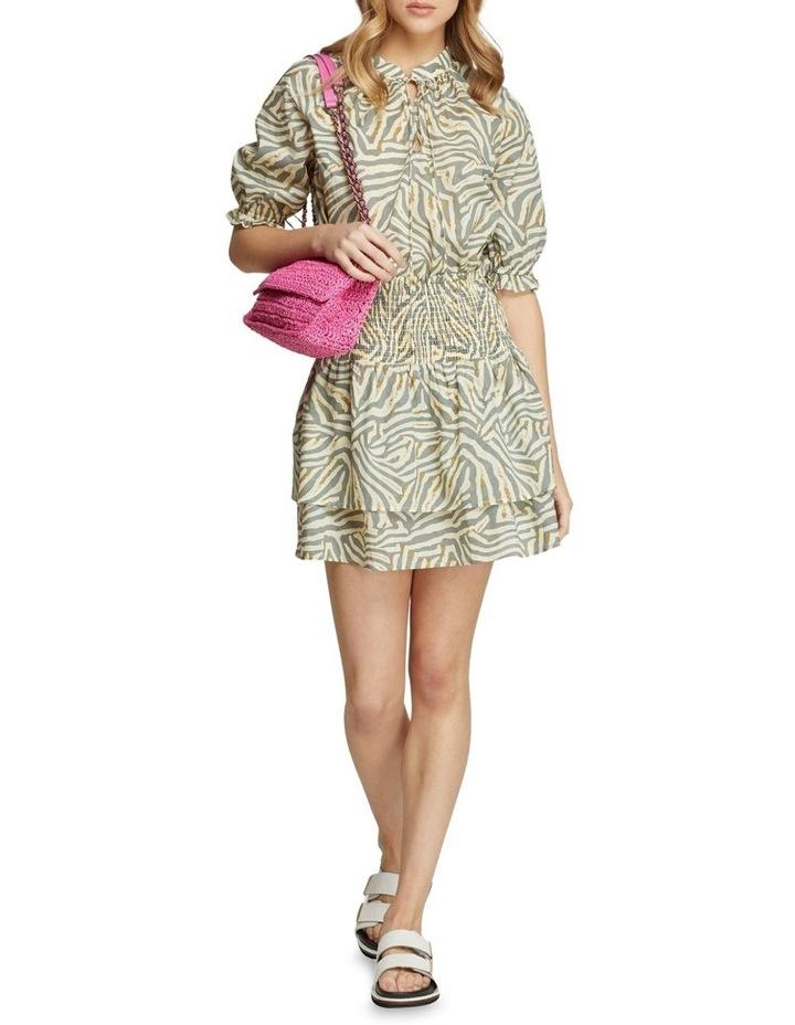 Ryder Grey Animal Print Skirt image 5