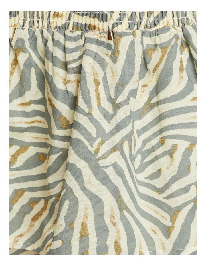 Ryder Grey Animal Print Skirt image 6