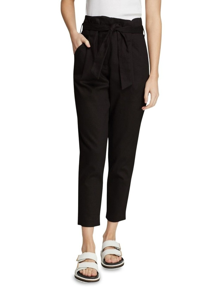 Sloane Stretch Cttn Paperbag Pants image 1