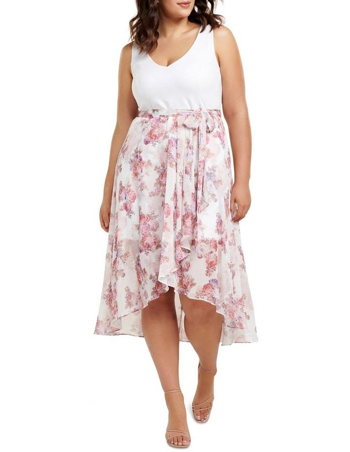 Kendra 2-In-1 V Neck Curve Dress image 1