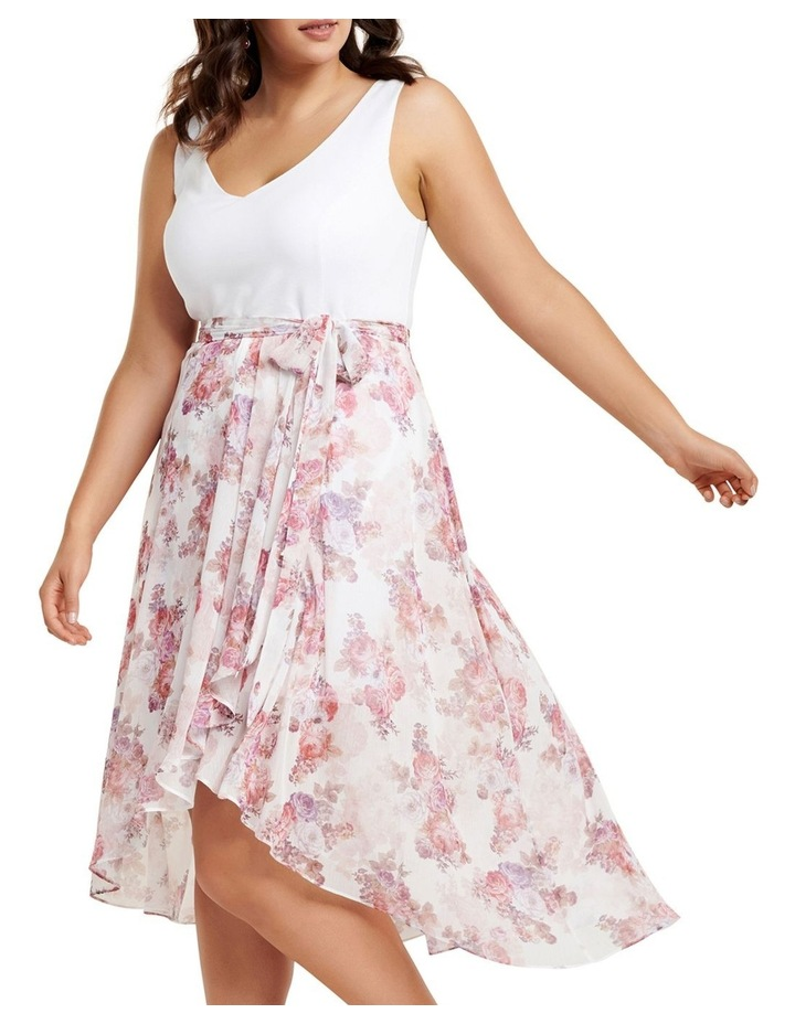 Kendra 2-In-1 V Neck Curve Dress image 2