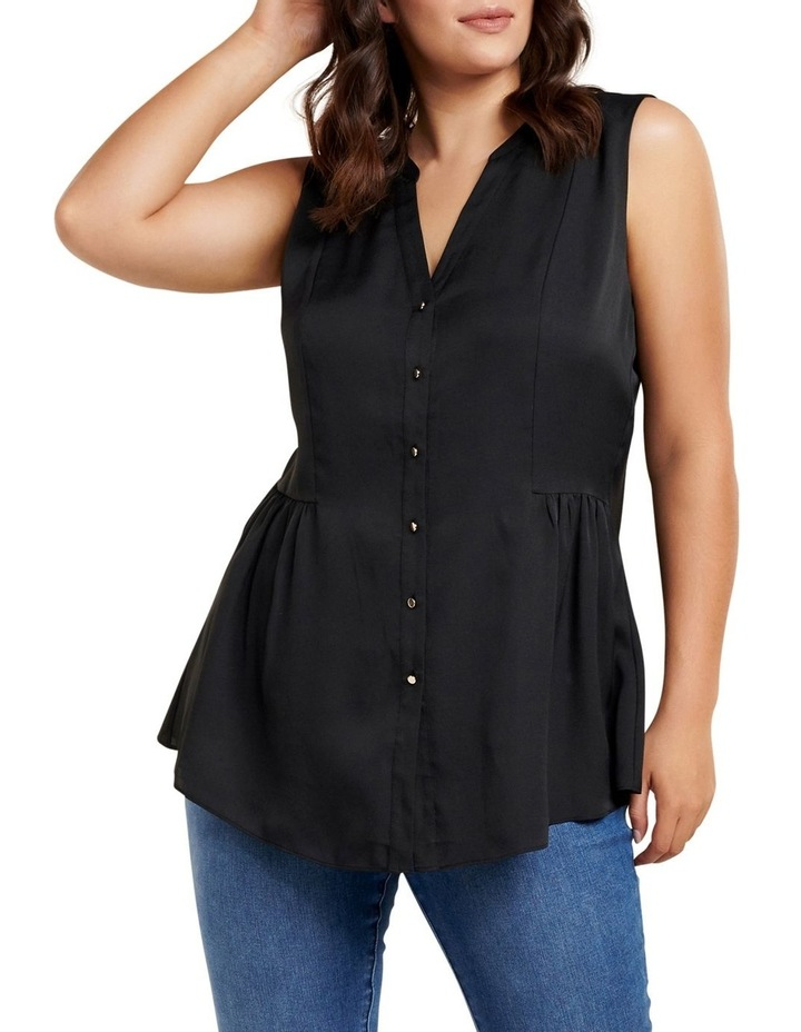 Lilly Curve Sleeveless Shirt image 1