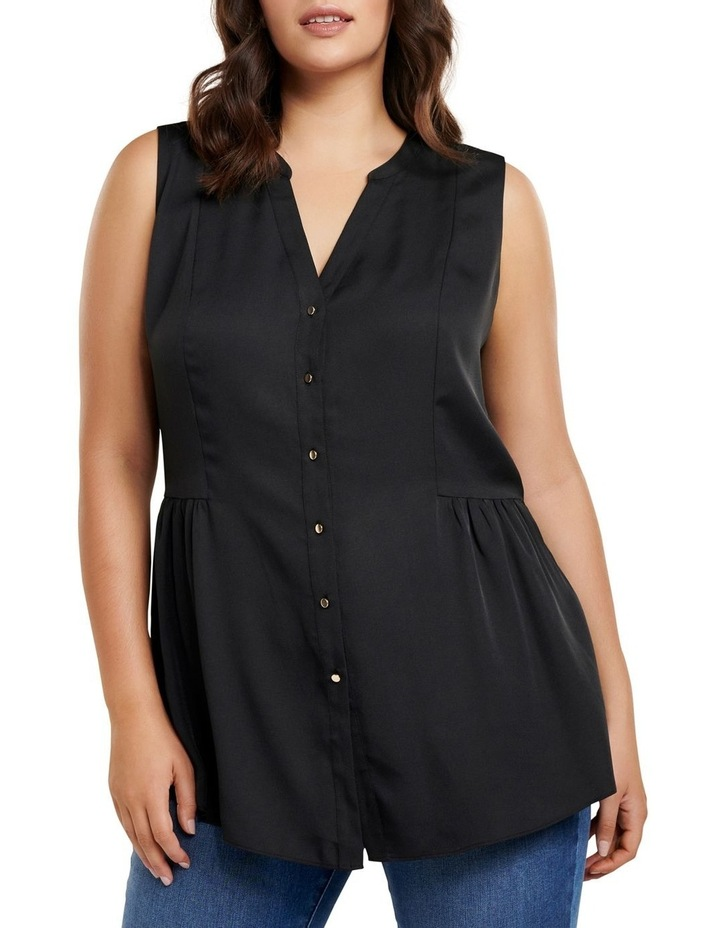 Lilly Curve Sleeveless Shirt image 2