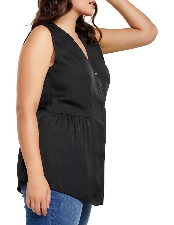 Lilly Curve Sleeveless Shirt image 3