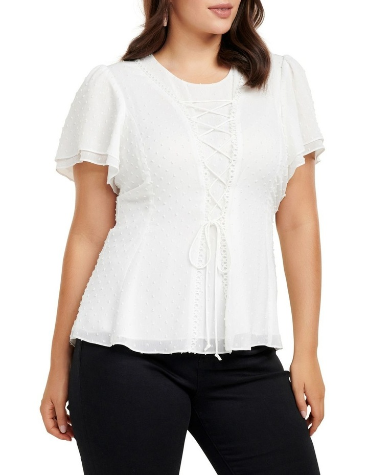 Willow Dobby Curve Blouse image 2