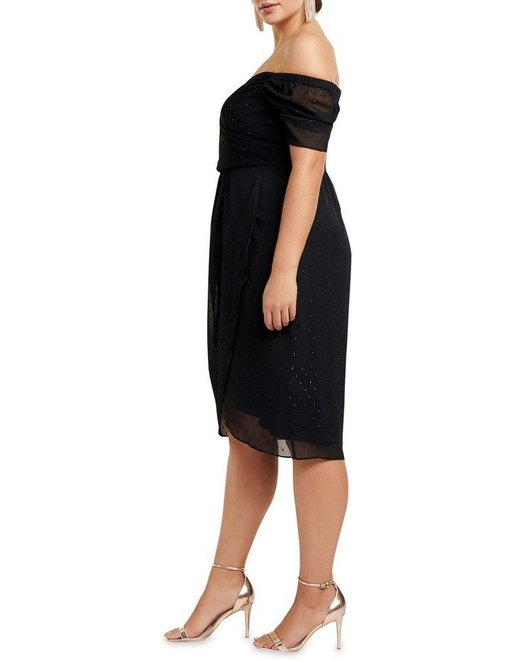 Rachel Metallic Dobby Curve Dress image 3