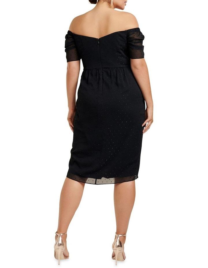 Rachel Metallic Dobby Curve Dress image 4