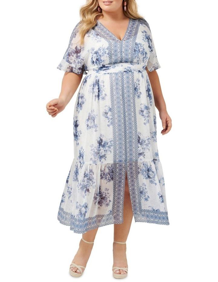Valentina Curve Border Maxi Dress image 1