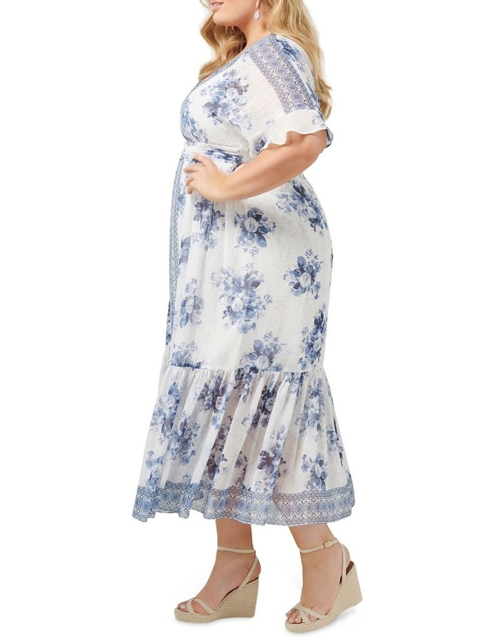 Valentina Curve Border Maxi Dress image 3