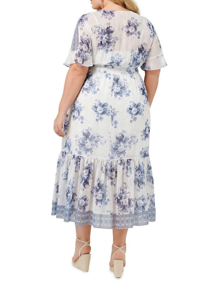 Valentina Curve Border Maxi Dress image 4