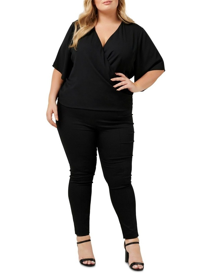 Bailey Collared Curve Wrap Blouse image 4