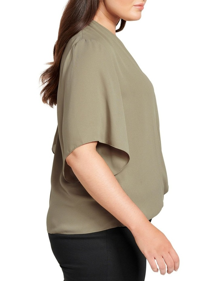 Bailey Collared Curve Wrap Blouse image 2