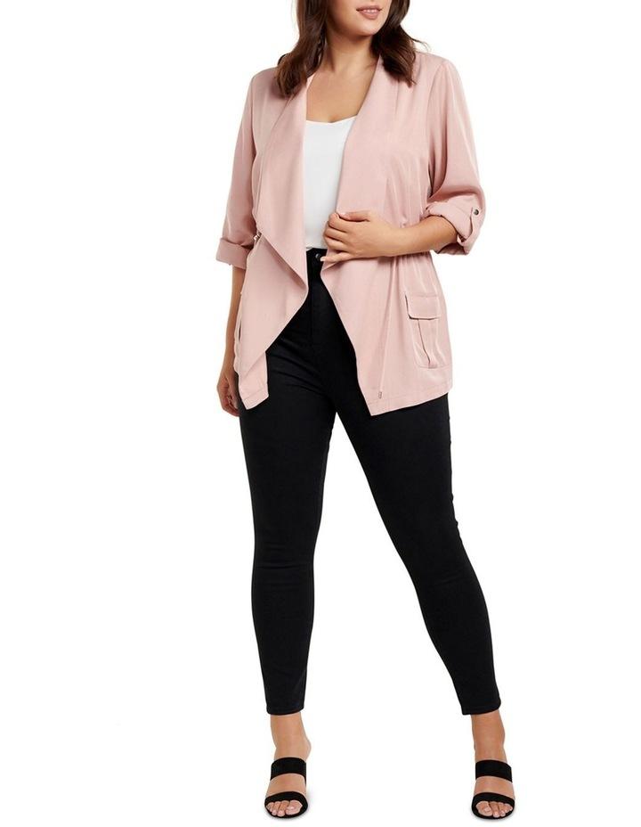 Eliza Curve Mid Length Jacket image 5