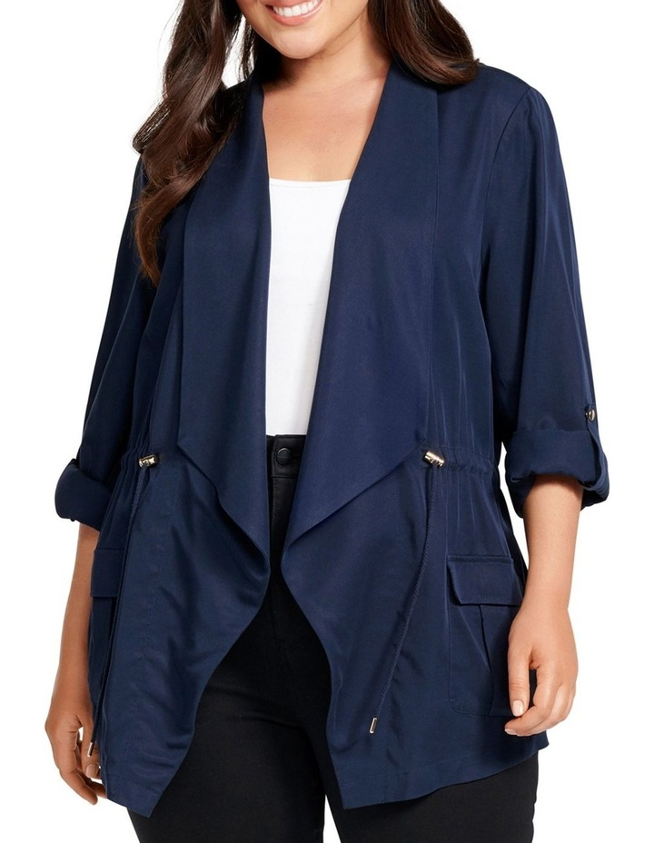 Eliza Curve Mid Length Jacket image 1
