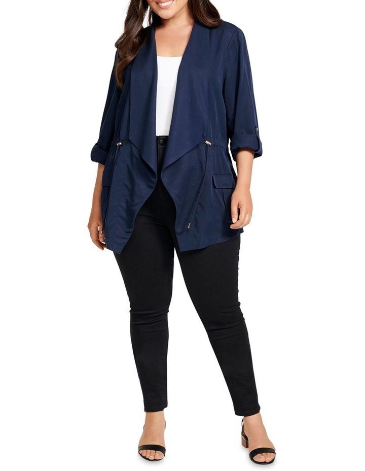Eliza Curve Mid Length Jacket image 4