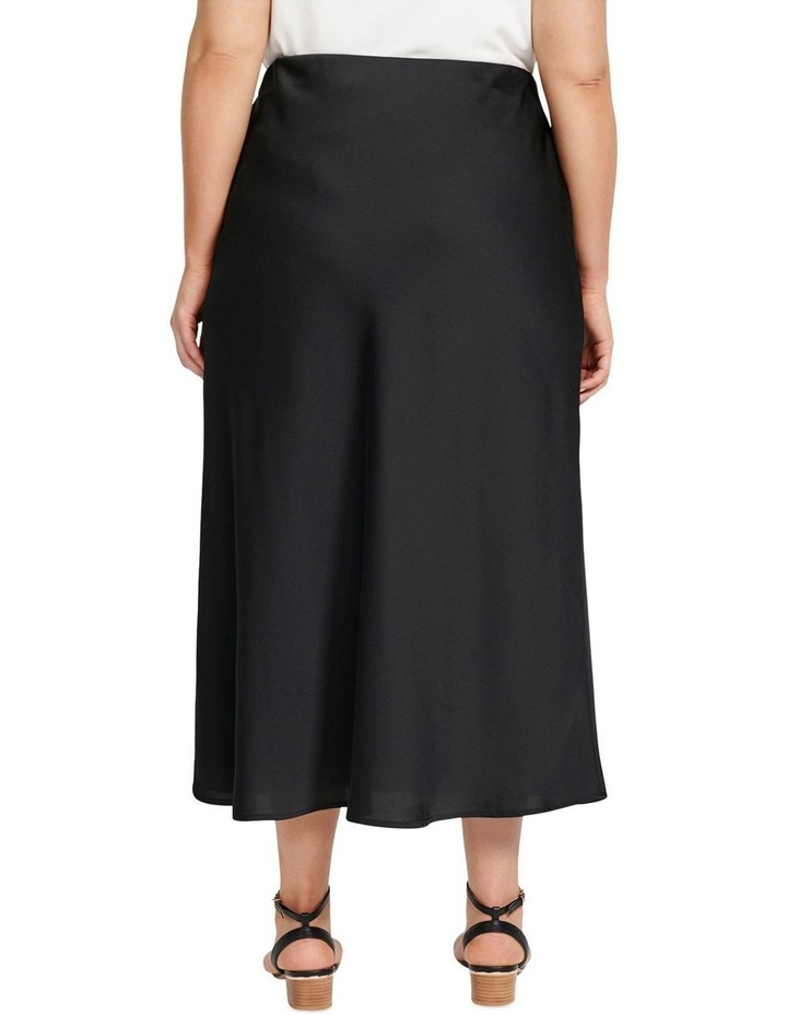 Billie Satin Bias Midi Skirt image 3
