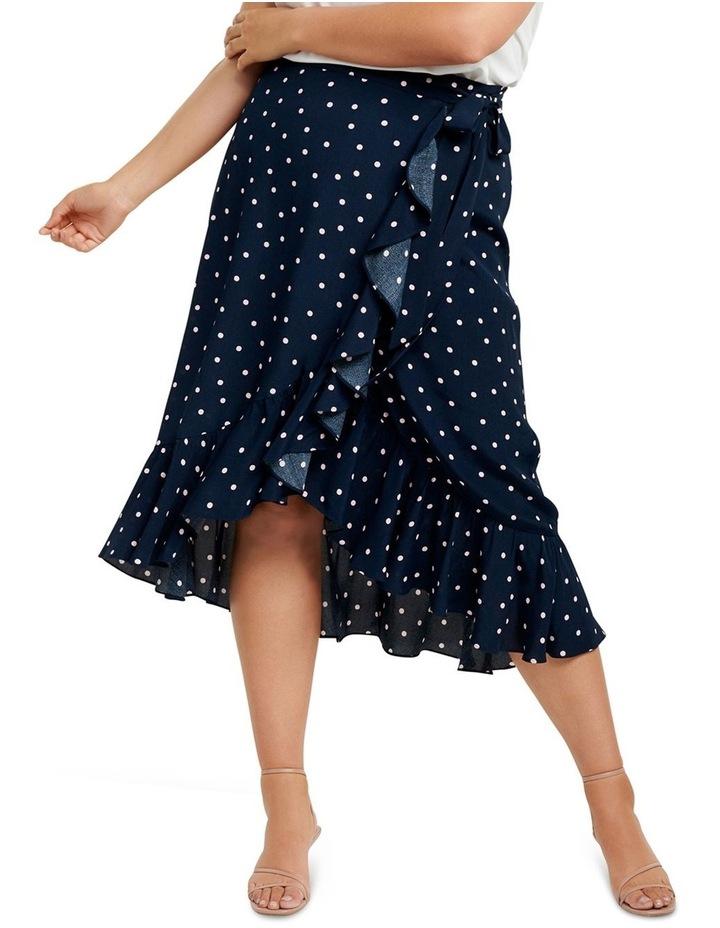 Hannah Wrap Midi Curve Skirt image 1