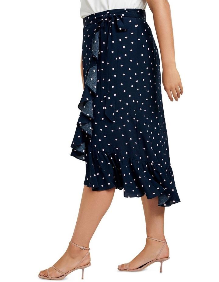 Hannah Wrap Midi Curve Skirt image 2