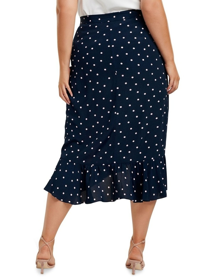 Hannah Wrap Midi Curve Skirt image 3