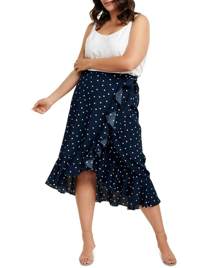Hannah Wrap Midi Curve Skirt image 4