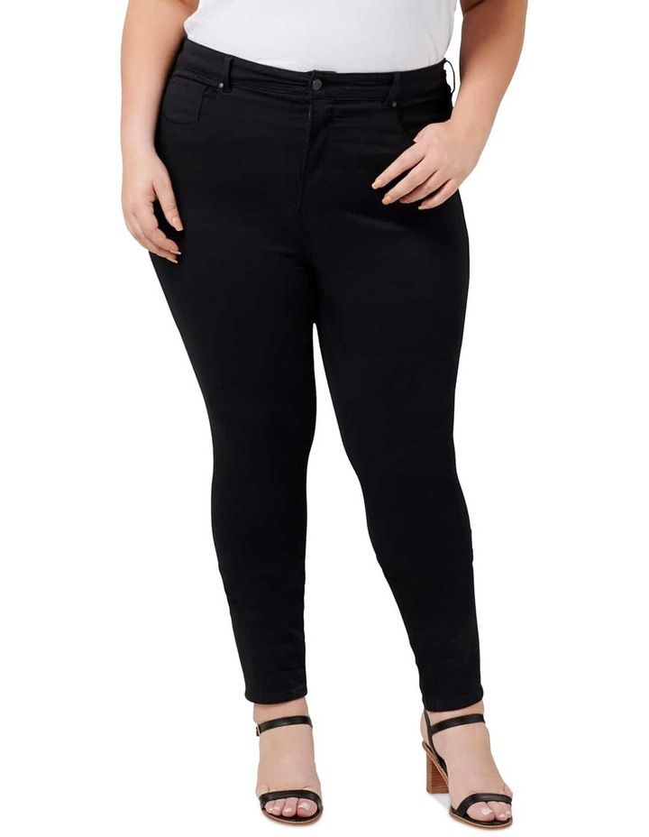 Bianca Curve High Rise Ankle Grazer Jeans image 1