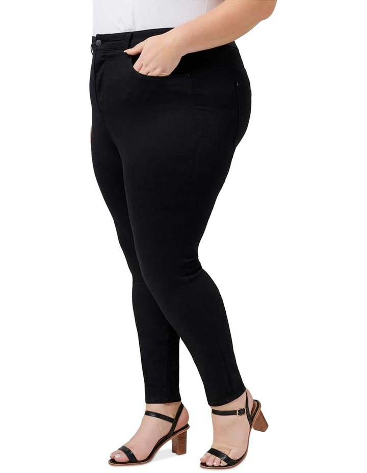Bianca Curve High Rise Ankle Grazer Jeans image 2